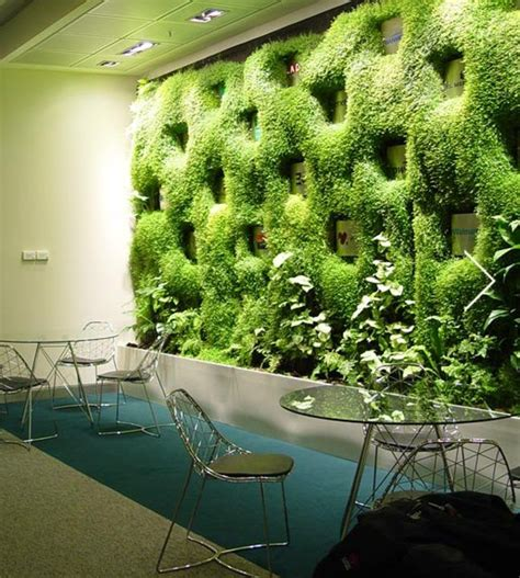 muro verdejardin vertical de verde  vertical garden