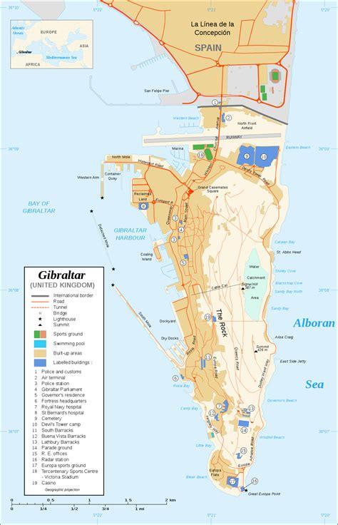 maps  gibraltar wikimedia commons