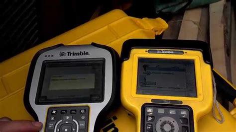 Trimble 5800 with TSC2 vs Trimble R10 with TSC3 - YouTube