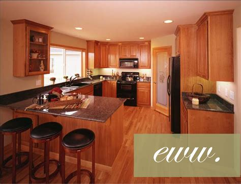 colour kitchen cabinets cherry cabinets oak floors gurus floor 2364