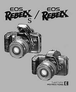 Canon Eos Rebel Xs Manual  Owner User Guide And Instructions