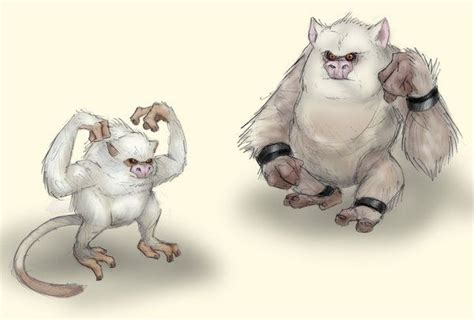 Mankey And Primeape By Rtradke.deviantart.com On