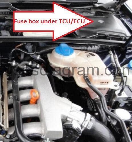 2006 Audi A4 Fuse Box by Fuse Box Audi A4 B6