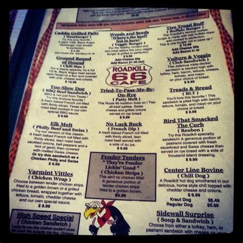 forum cuisine az the menu picture of ok saloon road kill cafe seligman