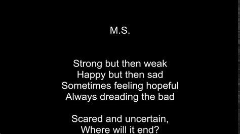 ms  emotional poem  multiple sclerosis  rose