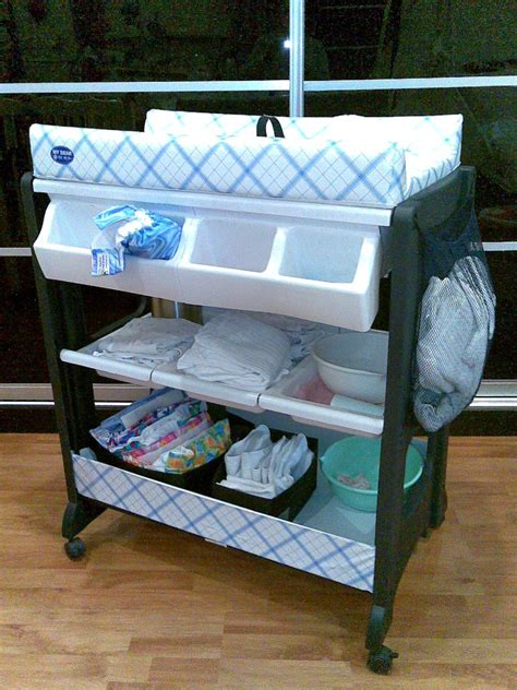 white changing table dresser portable baby changing table with wheels and attached
