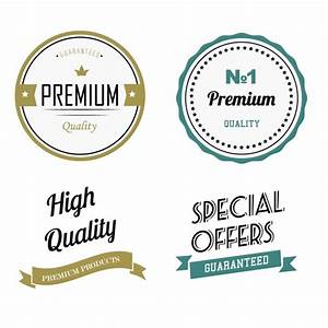 Premium quality labels Vector | Free Download