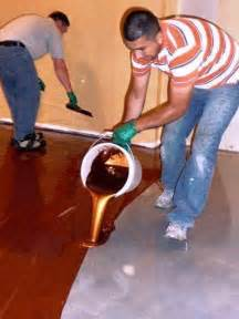 Epoxy Garage Floors Houston by This Man Pours A Buckets Of Metallic Epoxy What He