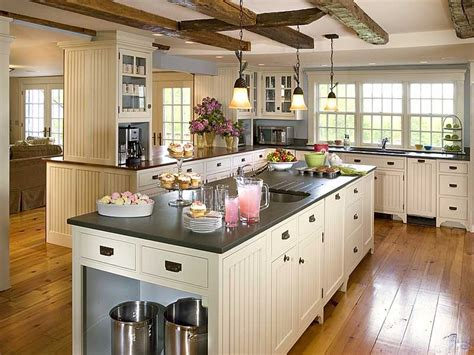 country kitchen designs with islands صور مطابخ امريكاني مودرن 2017 احدث ديكور مطبخ سوبر كايرو 8435