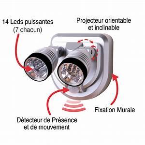 Lampe Exterieur Led Avec Detecteur De Mouvement : lampe exterieur avec detecteur de mouvement exceptionnel ~ Edinachiropracticcenter.com Idées de Décoration