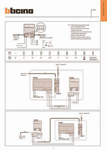 Bticino Wiring Diagrams