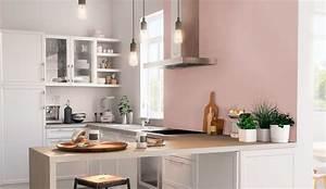 Cuisine Rose Poudré : peinture cuisine tendance 2018 c t maison ~ Melissatoandfro.com Idées de Décoration