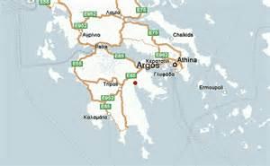 Argos Ancient Greece Map Location