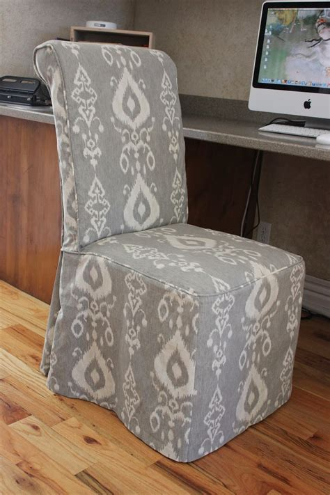 Grey Parson Chair Slipcovers by Custom Slipcovers By Shelley Gray Yellow Bedroom Chair