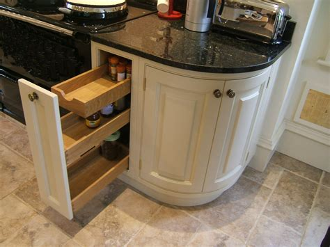Curved Cupboard Doors by Bespoke Painted Kitchens Barratt And Swann Kitchen In