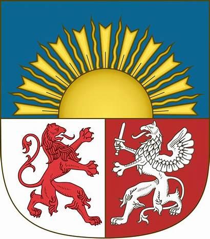Latvia Arms Coat Svg Escutcheon Lesser Commons