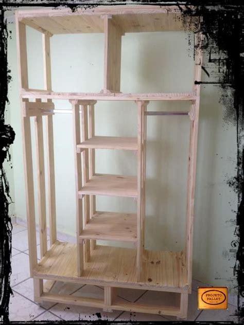 Diy Pallet Closet Organizer  Brand New Build It