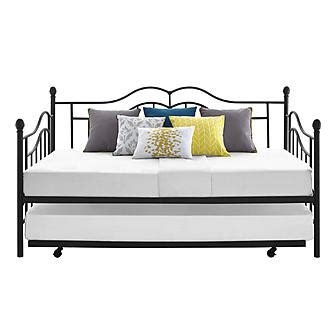 Kmart Trundle Bed by Essential Home Scroll Daybed With Trundle