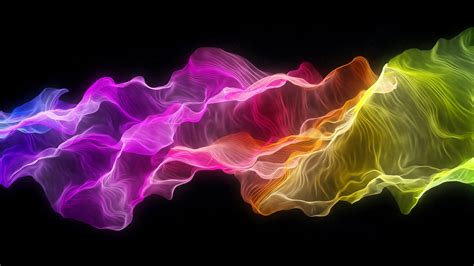 hd wallpaper silk wave raindow