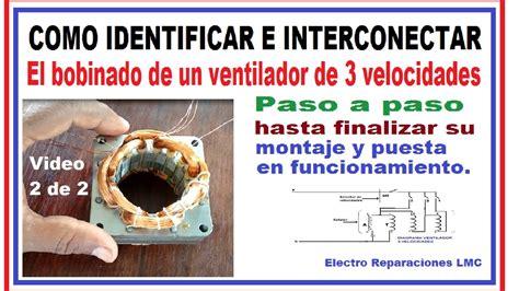 cableado de ventilador de techo de tres velocidades e invers yoreparo ventilador de 3 velocidades 5 cables conectar bobinado y puesta en funcionamiento 2 de 2