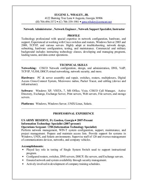 Army Reserve Experience On Resume by Eugene Whaley Resume