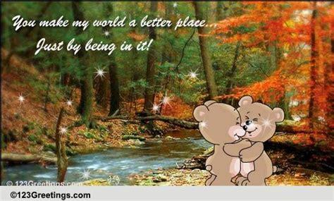 world brighter  sister ecards greeting