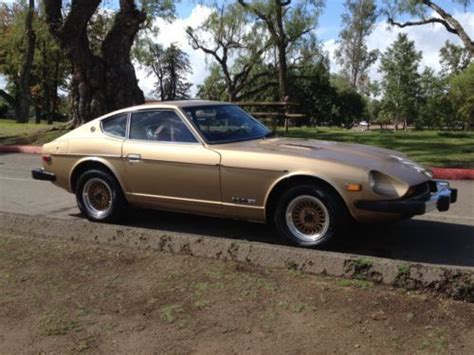 gold nissan car purchase used gold nissan 280z fuel injection classic