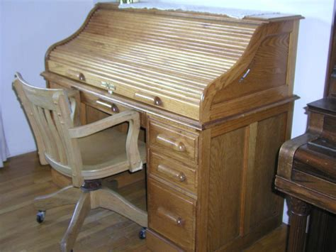 roll top desk used oak roll top desk and chair saanich victoria