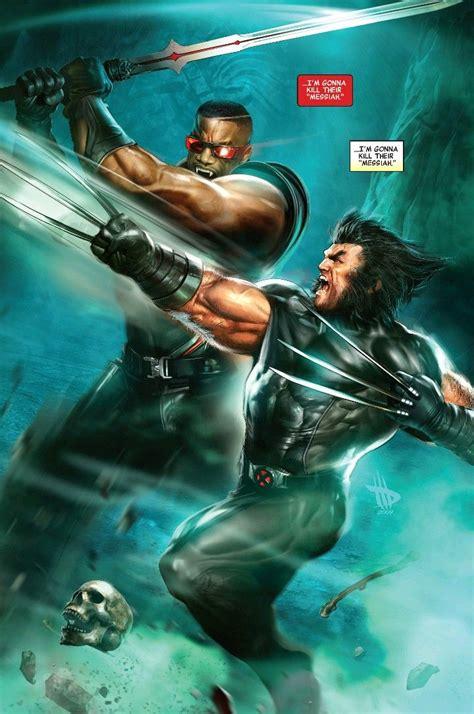 Wolverine v Blade#1 2019 | Marvel comics, Marvel, Comics