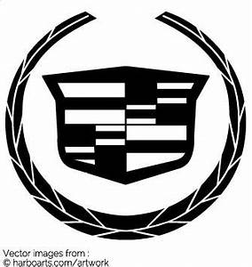 Cadillac Logo Black