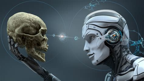 skull machine robot hd   wallpapers images