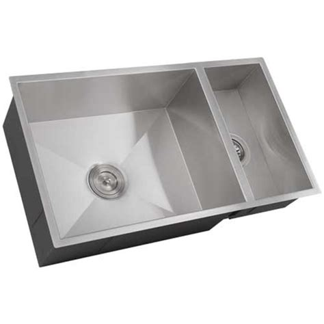 Ticor S6502 Undermount Stainless Square Kitchen Sink