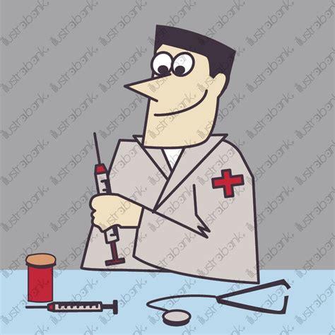 bureau medecin médecin docteur bureau travail métier homme illustration