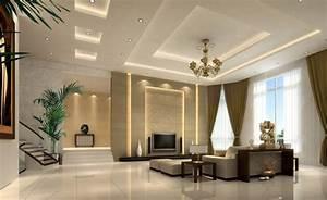 Modern minimalist living room tv wall and ceiling ideas