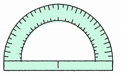Angles Clipart Protractor Geometry Angle Clip Math