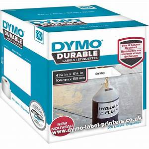 dymo labelwriter 1933086 durable extra large shipping With dymo custom labels