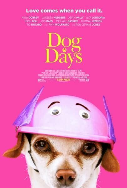 dog days posters  nina dobrev vanessa hudgens