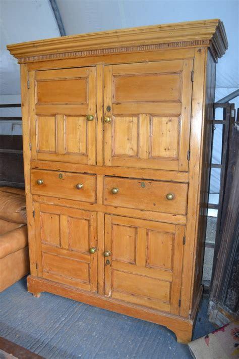 Cupboard Antique by Pine Larder Cupboard 262967