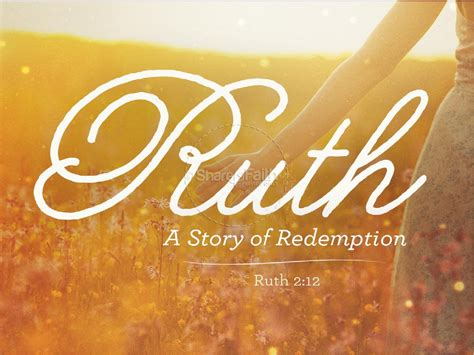 ruth  story  redemption sermon powerpoint