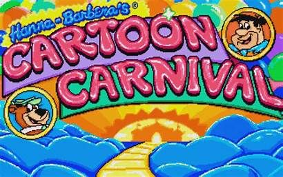 Hanna Barbera Carnival Cartoon Games Screenshot Funhouse