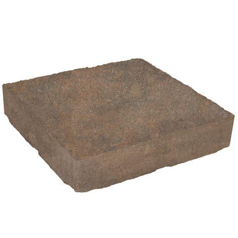 mega domino 12 in x 18 in concrete fossil beige paver