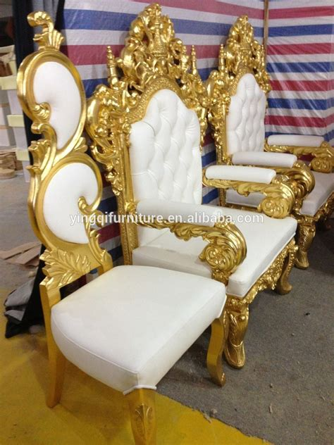 luxury high back wedding chair chair for sale