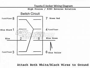 Toyota Electric E Locker Switches