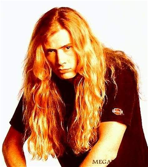 photo  dave mustaine heavy metal hairstyle haircuts