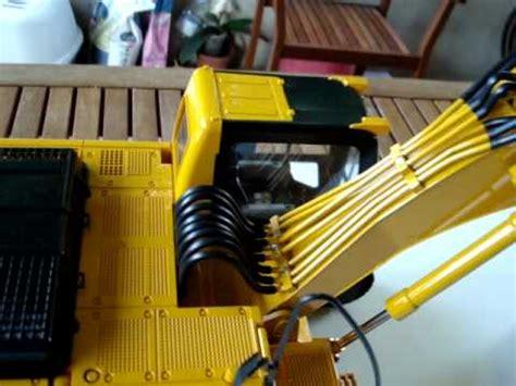 cat   rc bruder escavatore excavator bagger panoramica overview  sale  youtube