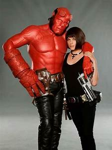 Hellboy - Ron Perlman, Selma Blair (Liz Sherman) | Cosplay ...