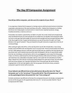 Personal Narrative Essay Examples High School Essays On Compassionate Care Essays On Abortions Examples Of Thesis Statements For Persuasive Essays also What Is The Thesis Of An Essay Essays On Compassion Essay On Yourself  Essays On Compassionate  Thesis Statement Analytical Essay