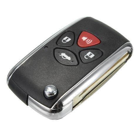 Button Flip Car Remote Key Fob For Toyota Camry