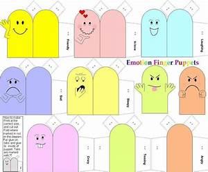 Emotion finger puppets paper dolls and other paper toys for Paper finger puppets templates