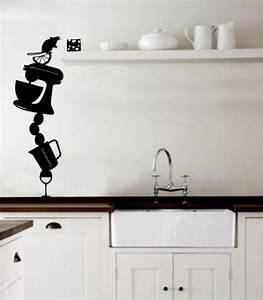 Kitchen wall stickers decoration idea modern